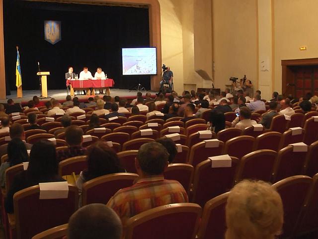 У Коломиї відбулося виїзне засідання сесії облради (відеосюжет)